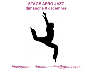 stage afro jazz