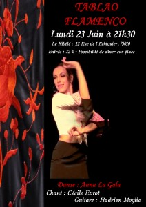 Tablao Flamenco 23 juin 2014