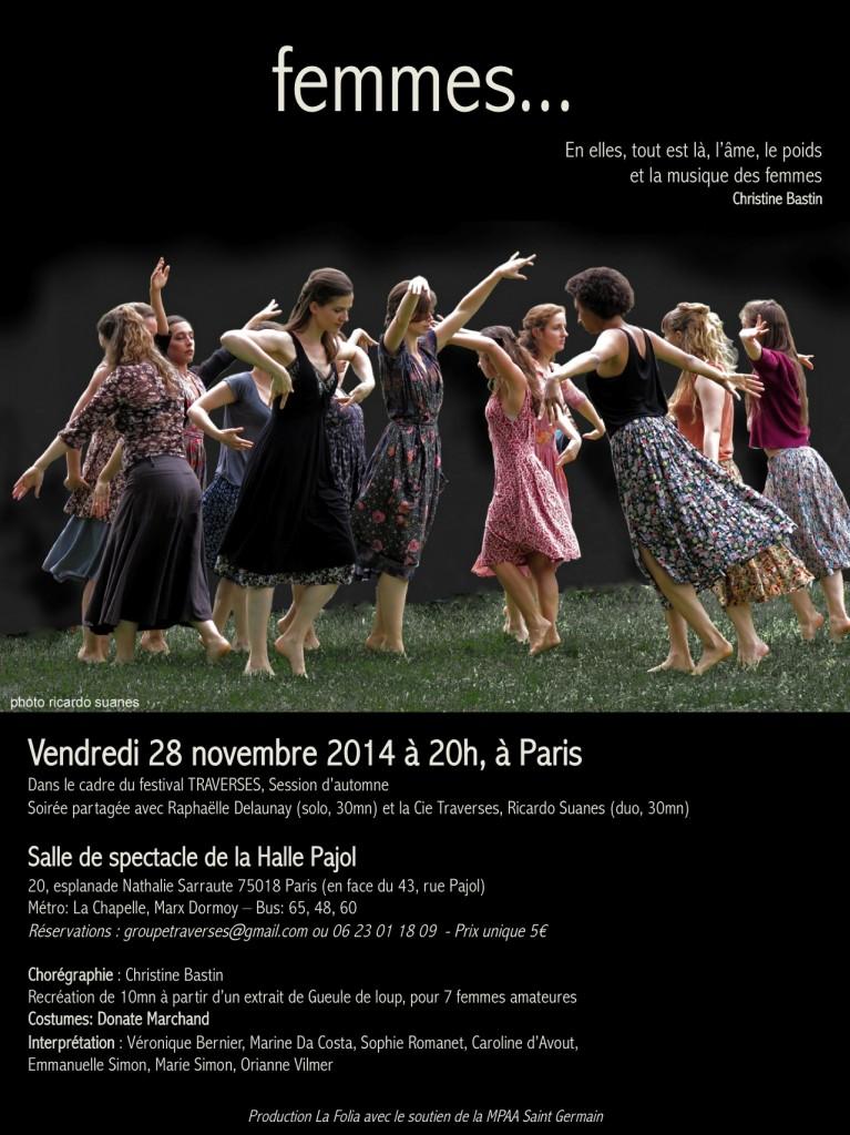 Femmes Salle Pajol Paris 28nov14