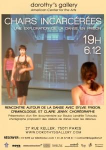 Chairs incarcérées, une exploration de la danse en prison